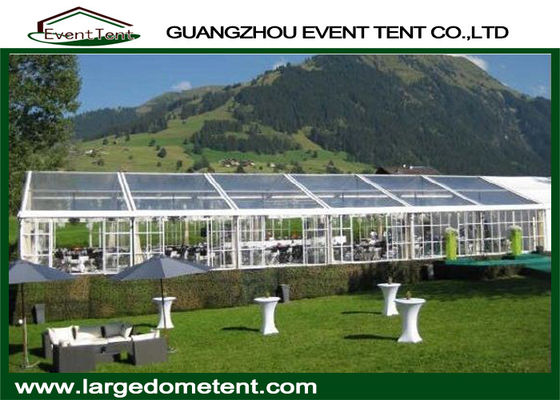 Custom 1500 People Trade Show / Wedding Party Tent 40 X 60 With Flooring